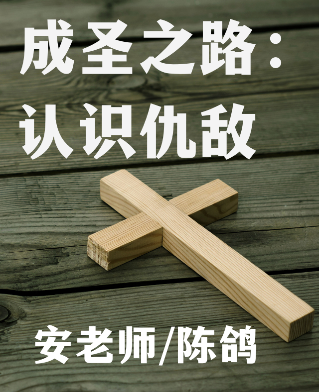 成圣之路(五):认识仇敌 安老师