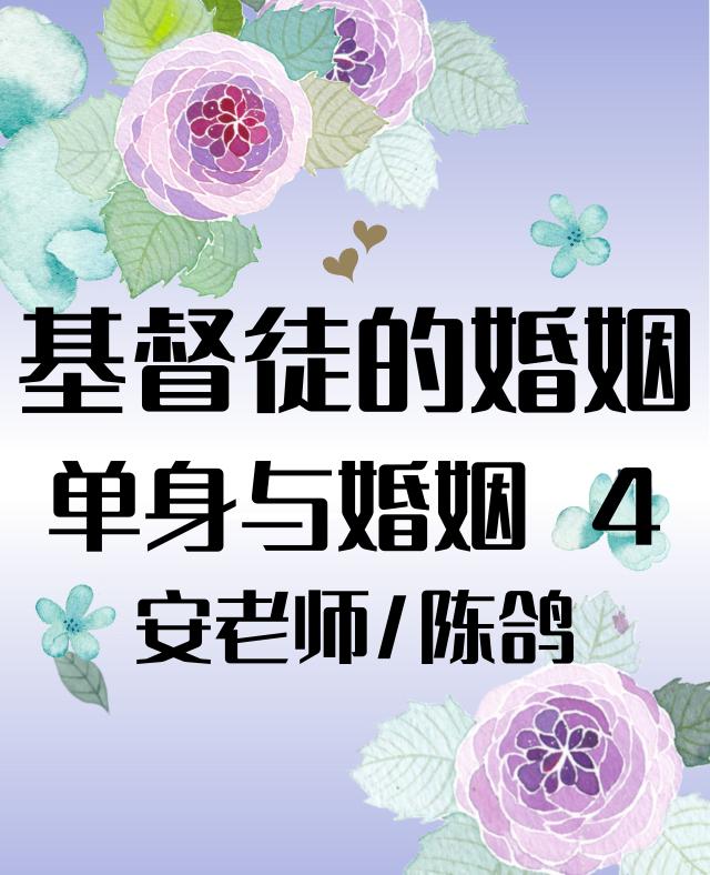 单身与婚姻4  安老师/陈鸽